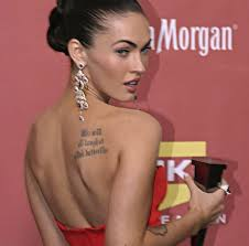 8 best megan fox tattoo designs