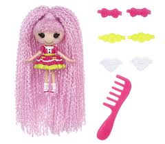 lalaloopsy loopy hair mini lalaloopsy loopy hair doll sparkles toys