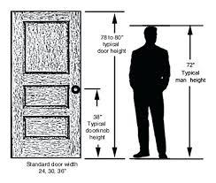 Standard Door Width Interior Standard Bedroom Door Width Grand Standard Interior Door Doors