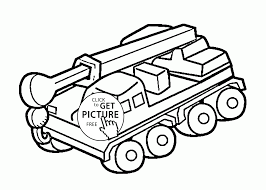 cool crane truck coloring page for kids transportation coloring