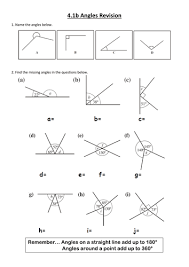 angles revision by fosh jish teaching resources tes