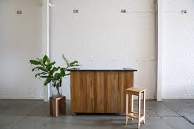 Reception Desk Sydney by Point Of Sales Reception Desk Recycled Timber Sales Desk Sydney