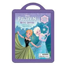 Frozen Storybook Collection Walmart Disney Frozen Royal Dress Up Book 9781423187776