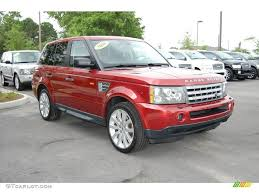 2006 rimini red metallic land rover range rover sport supercharged