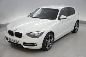 black bmw 1 series used bmw 1 series 2014 for sale motors co uk