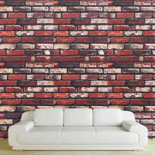 popular brick wall stickers buy cheap brick wall stickers lots wall sticker natural brick wallpaper stickers adhesive paste living room bedroom art decals home decoration diy