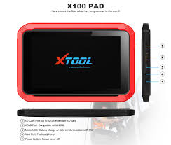 chinese supplier xtool x 100 pad tablet x100 pad auto key