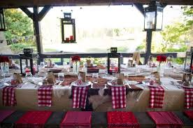 stunning western table decorations and western style