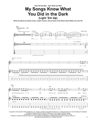 Fall Out Boy Light It Up Download My Songs Know What You Did In The Dark Light Em Up