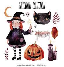 halloween clipart cute collection cute mummy vector halloween stock vector 684045544 shutterstock