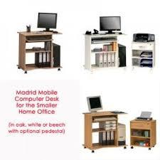 Movable Computer Desk Best 25 Mobile Computer Desk Ideas On Pinterest White Corner