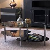 Black Glass Coffee Table Ryan Rove Cleveland 38 Inch Glass Coffee Table With Black Mesh