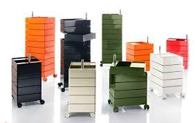caisson bureau design caisson de bureau en aluminium à 5 tiroirs design original par