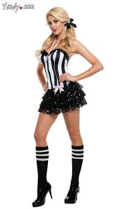 Halloween Costume Clearance Sassy Ref Costume Referee Dress Referee Halloween Costume