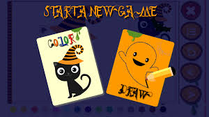 halloween paint draw for kids android apps on google play