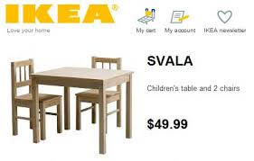 unfinished childrens table and chairs randsco svala checkerboard table