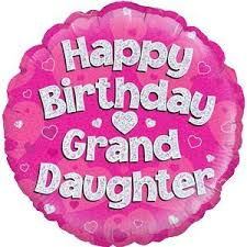 free balloon delivery happy birthday granddaughter balloon delivered inflated in a box