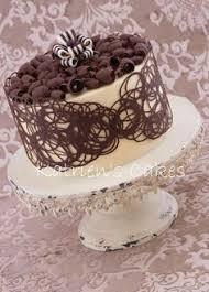 chocolate cake decoration Google Search I am baker
