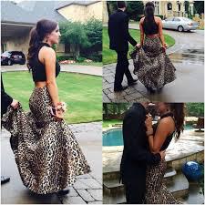green leopard print prom dress best dressed