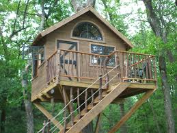wooden house plans decorations comfortable simple tree house plans for kids with
