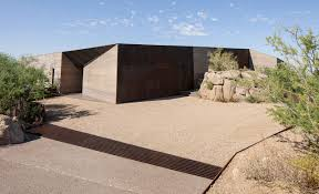 desert courtyard house wendell burnette architects archdaily