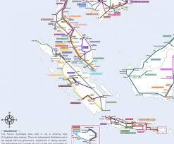 South East Asia Map Globetrotter Draws Map Of Not All Fantasy Rail Network U2013 Next City