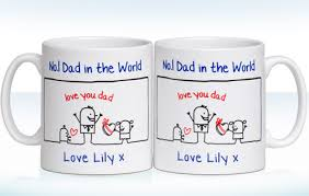 fathers day mug personalised s day no 1 mug