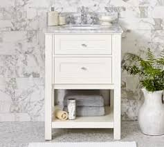 Single Bath Vanity Single Bathroom Vanities Pottery Barn