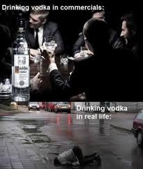 Vodka Meme - drinking vodka meme guy