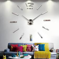 Clocks On Amazon 3d Wall Clock Promotion Shop For Promotional 3d Wall Clock On