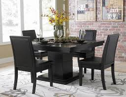 creative design black dining table and chairs all dining room