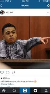 Russell Meme - nick young likes instagram meme calling d angelo russell a snitch