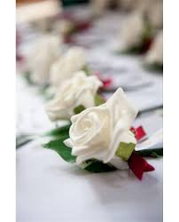 wedding flowers for guests white or ivory corsages for your wedding guests and family