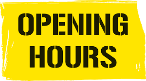 change opening times quinto bookshop