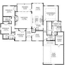 4 bedroom 3 bath house plans 653665 4 bedroom 3 bath and an office or playroom house plans