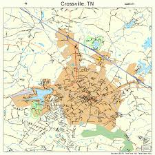 crossville tn crossville tennessee map 4718540