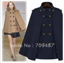 2012 nibbuns cape shawl collar double breasted wool coat women u0027s