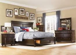 bedroom contemporary house interior bedroom with black wooden
