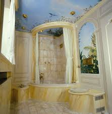 mural bathroom ceiling design bathroom ceiling design ideas