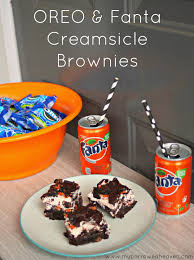 borrowed heaven oreo u0026 fanta creamsicle brownies