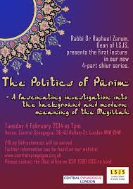 Fascinating Meaning The Politics Of Purim Shiur By Rabbi Dr Raphael Zarum Tuesday