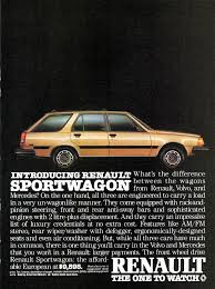 1984 renault alliance 1984 renault sport wagon information and photos momentcar