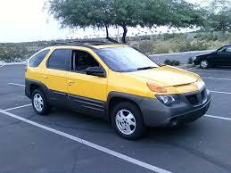 pontiac aztek yellow pontiac aztek brzydkie kaczątko które nigdy nie będzie