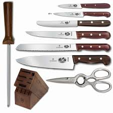 victorinox rosewood 12 piece knife block set at chefs corner store