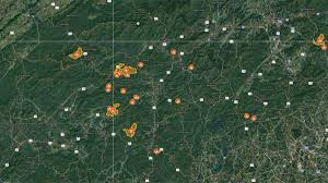 Virginia Tech Interactive Map by Wnc Wildfire Locations Interactive Map