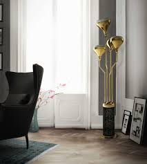 Living Room Floor Lamp Gold Floor Lamps To Give Your Home A Fancy Look