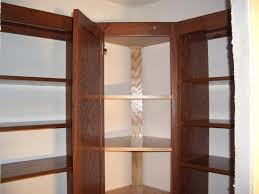 tall corner pantry cabinet with a desk space u2014 new interior ideas