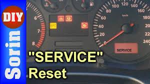 service indicator reset seat leon 1m toledo 2 youtube