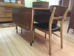 Modern Drop Leaf Table Mid Century Lane Acclaim Drop Leaf Table U0026 Six Chairs Epoch