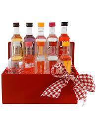 vodka gift baskets gift basket experts vodka lover mini bar gift box